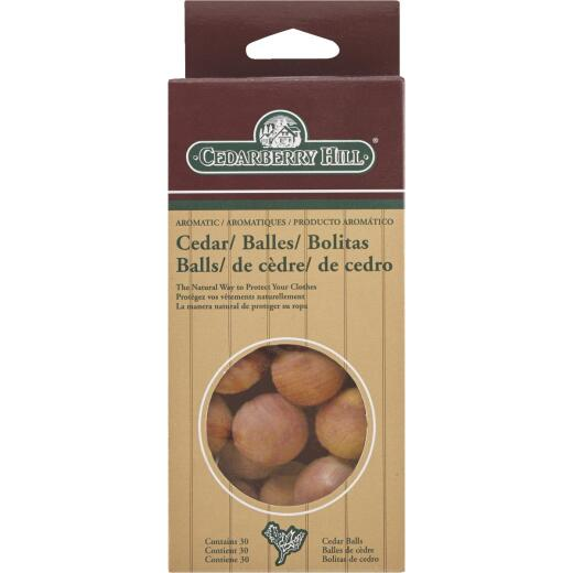 Cedarberry Hill Red Cedar Cedar Balls (30-Pack)
