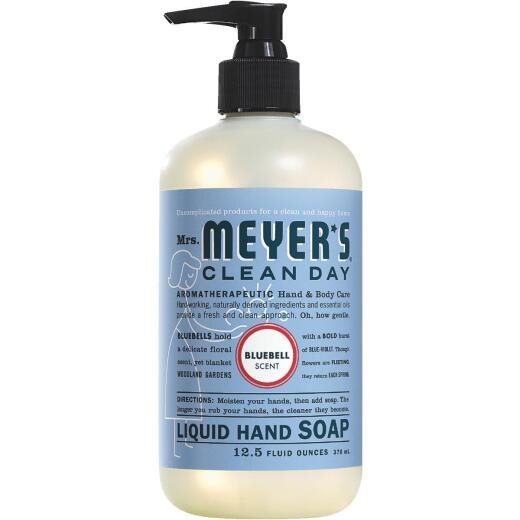 Mrs. Meyer's Clean Day 12.5 Oz. Blue Bell Liquid Hand Soap