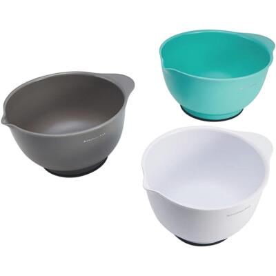 KitchenAid Plastic Mixing Bowls (3 Piece)