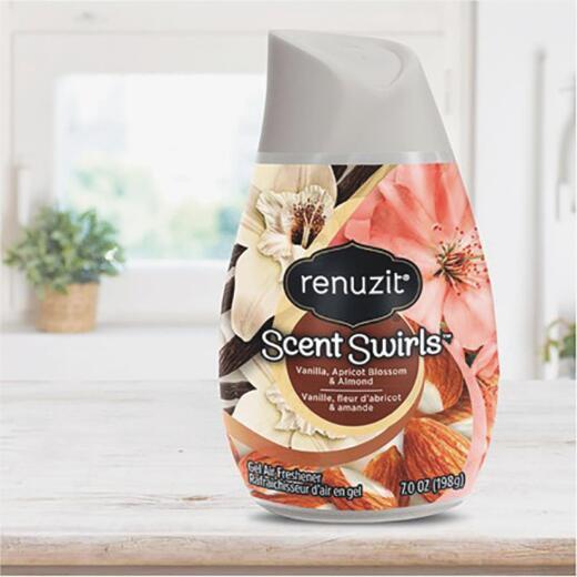 Renuzit 7 Oz. Vanilla, Apricot Blossom & Almond Solid Air Freshener