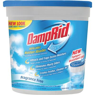 DampRid 10.5 Oz. Fragrance Free Refillable Moisture Absorber