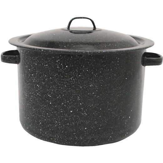 GraniteWare 7.5 Qt. Black Stew Pot