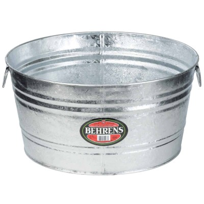 Behrens 9 Gal. Round Hot-Dipped Utility Tub