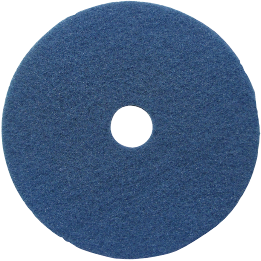 Lundmark 20 In. Abrasive Blue Polishing Pad