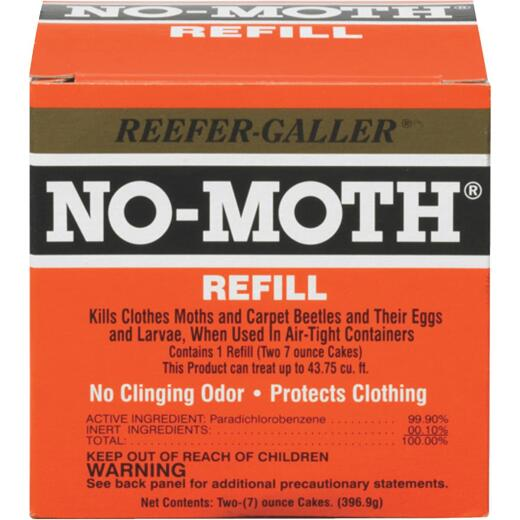 Reefer-Galler No-Moth Moth Killer Cake Refill (2-Pack)