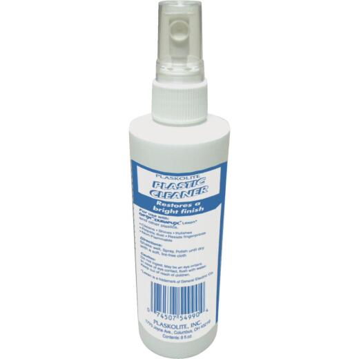 Plaskolite 8 Oz. Plastic Cleaner
