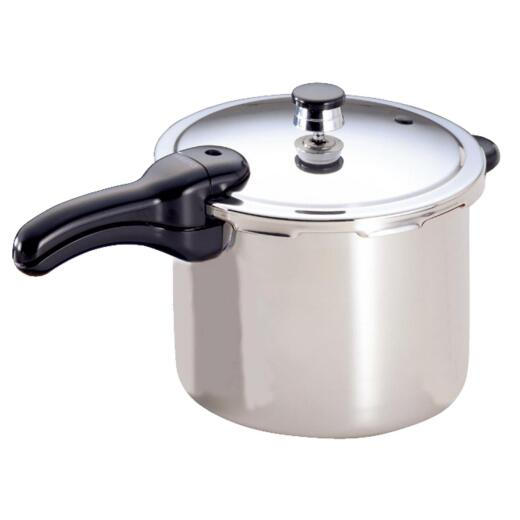 Presto 6 Qt. Stainless Steel Pressure Cooker