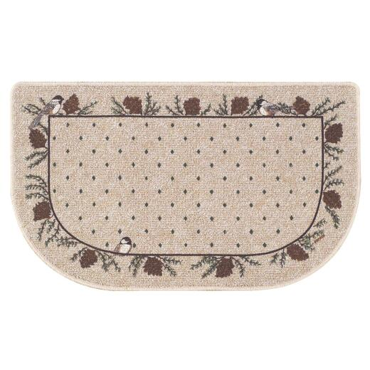 Bacova 1 Ft. 10-1/2 In. x 3 Ft. 4 In. Hearth Rug