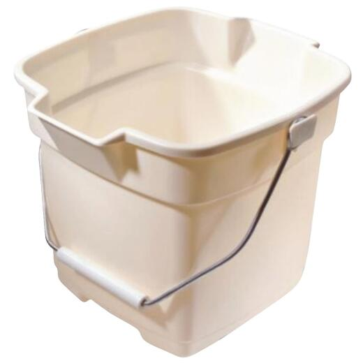 Rubbermaid Roughneck 12 Qt. Bisque Bucket