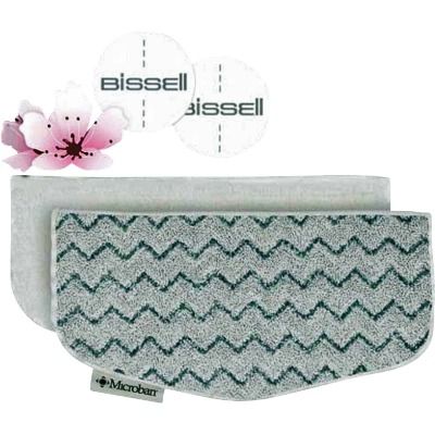 Bissell PowerFresh Steam Mop Kit (2 Pads & 4 Scent Discs)