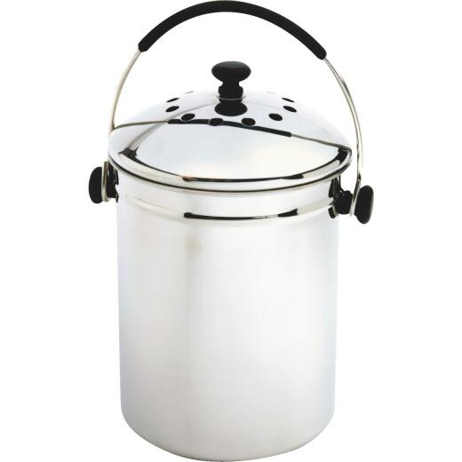 Norpro 1 Gallon Stainless Steel Compost Keeper