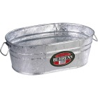 Behrens 16.25 Gal. Oval Round Hot-Dipped Utility Tub Image 1