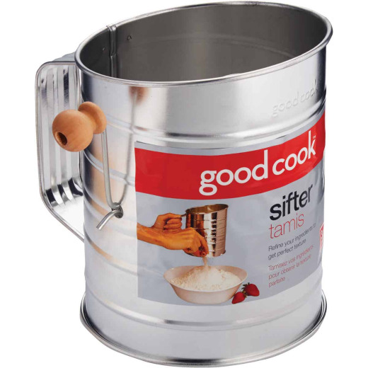 Goodcook 3-Cup Tin Sifter