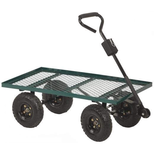 Best Garden 500 Lb. Steel Garden Cart