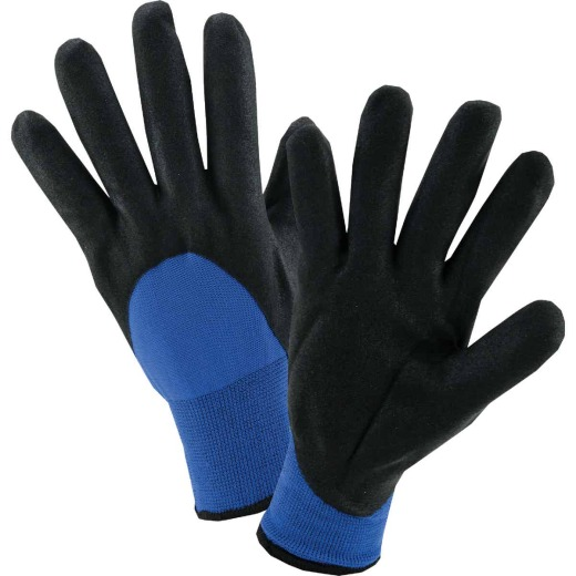 West Chester Men's XL Nitrile Coated Nylon Winter Glove