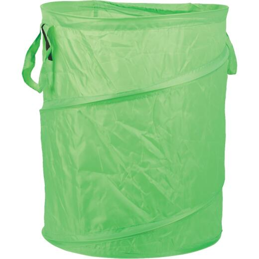 Midwest Gloves & Gear 15 Gal. Green Pop-Up Reusable Lawn & Leaf Bag