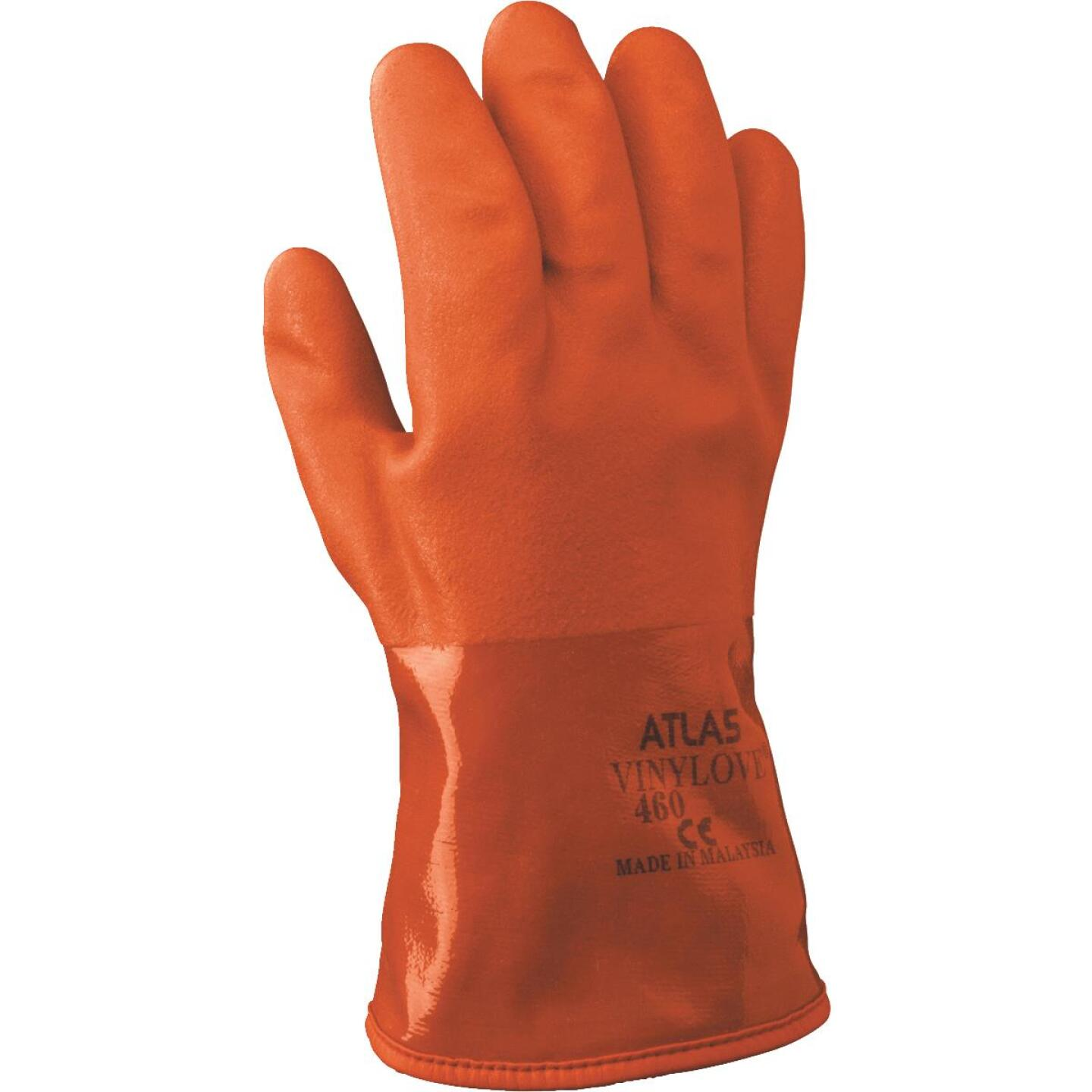 Atlas Men's XL Double-Dipped PVC Winter Work Glove Image 1