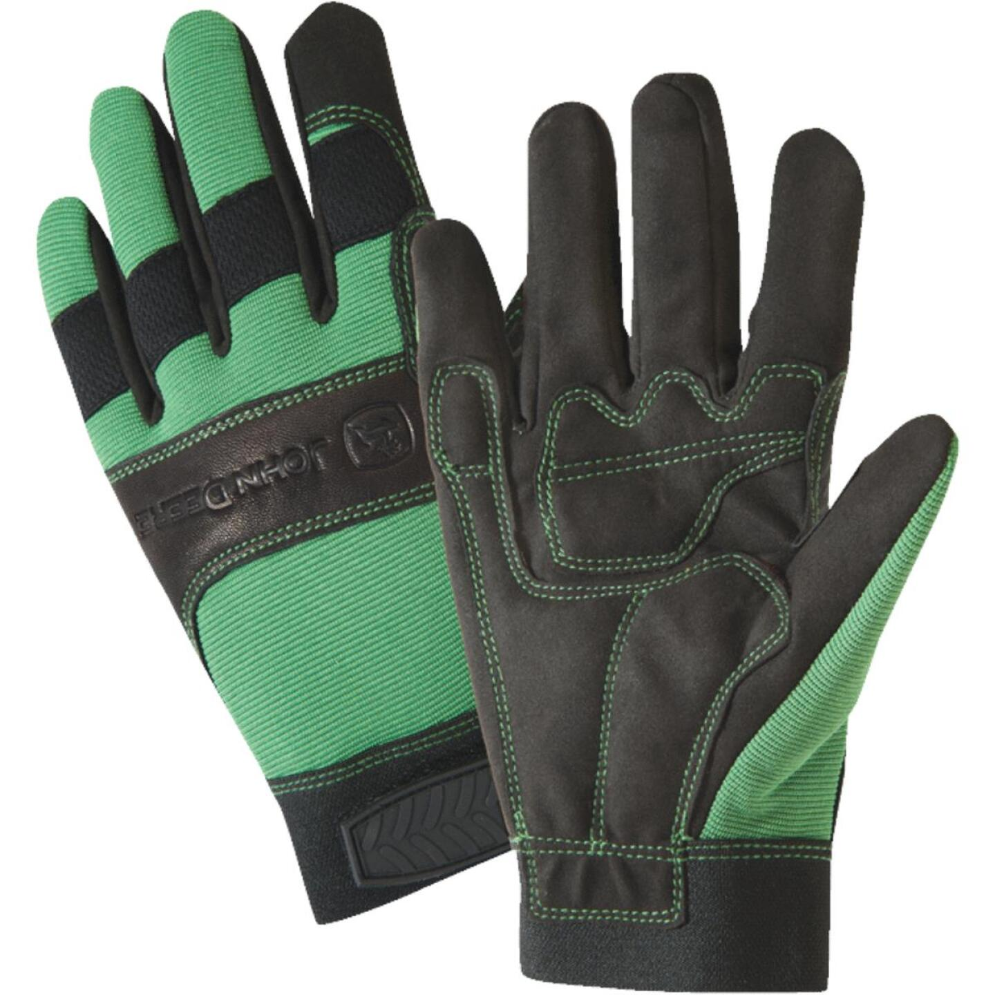 West Chester John Deere Men's XL Synthetic Leather Winter Work Glove Image 1