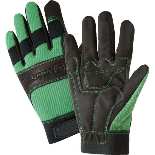 West Chester John Deere Men's XL Synthetic Leather Winter Work Glove