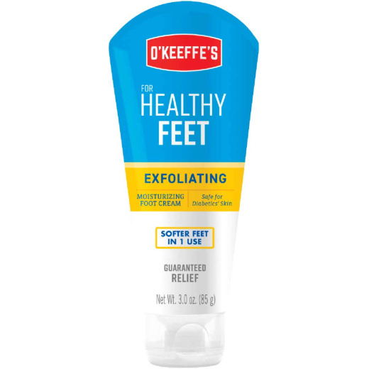 O'Keeffe's Healthy Feet 3 Oz. Tube Exfoliating Foot Cream