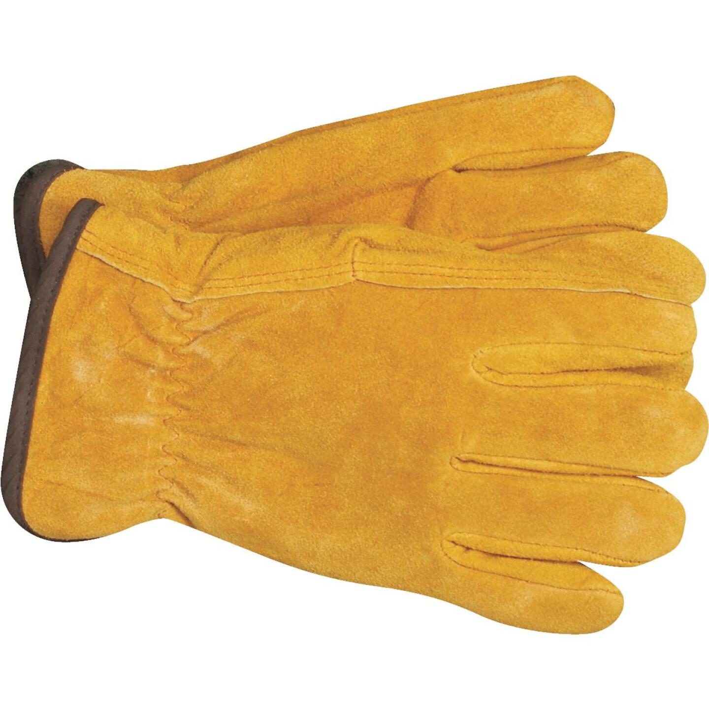 Do it Men's Medium Lined Leather Winter Work Glove Image 3