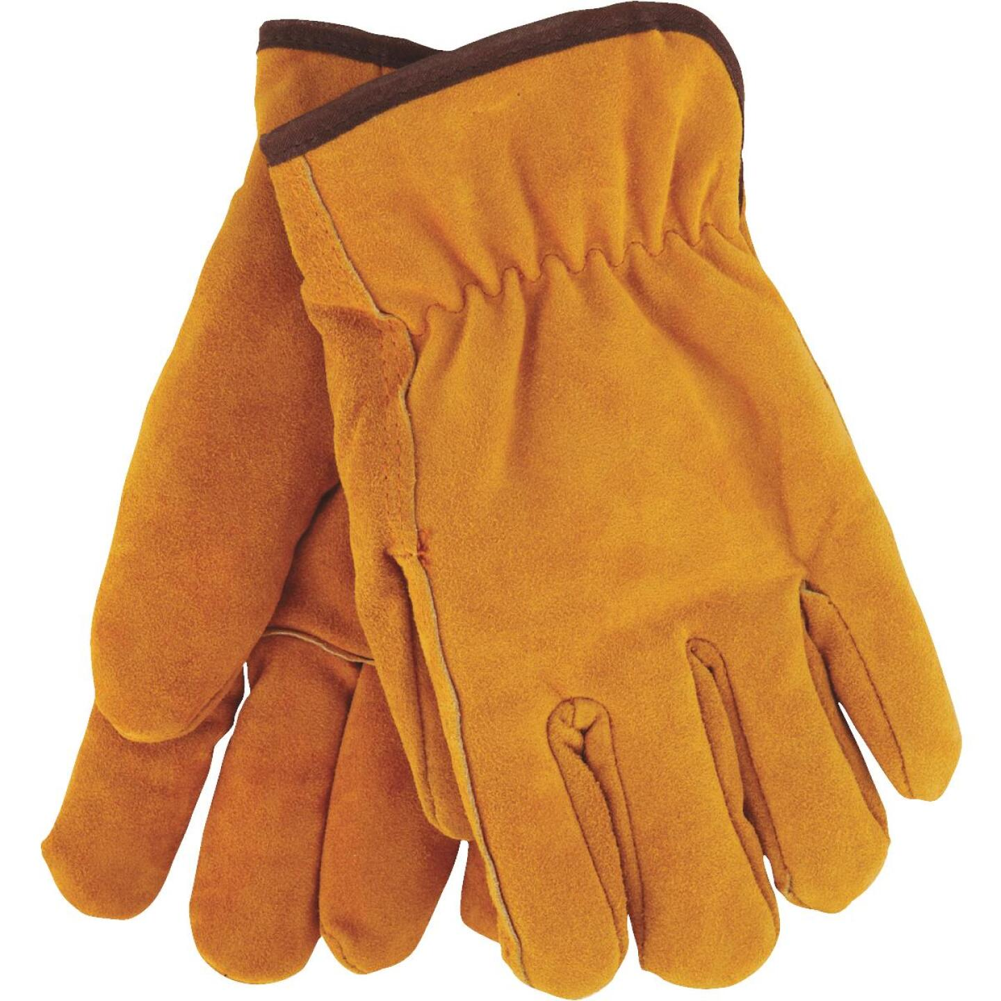 Do it Men's Medium Lined Leather Winter Work Glove Image 1