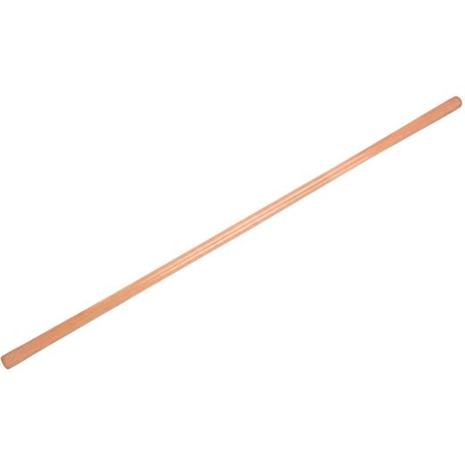 Truper 54 In. L x 1-3/4 In. Dia. Wood Hoe/Fire Rake Replacement Handle