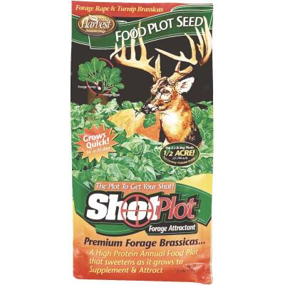 Evolved Harvest Shot Plot 2-1/2 Lb. 1/2 Acre Forage Rape & Turnip Brassicas Deer Forage