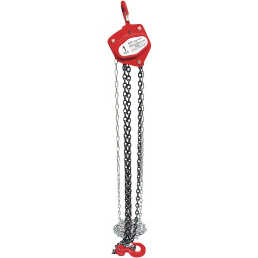 American Power Pull 2000 Lb. 10 Ft. Lift Chain Block Hoist