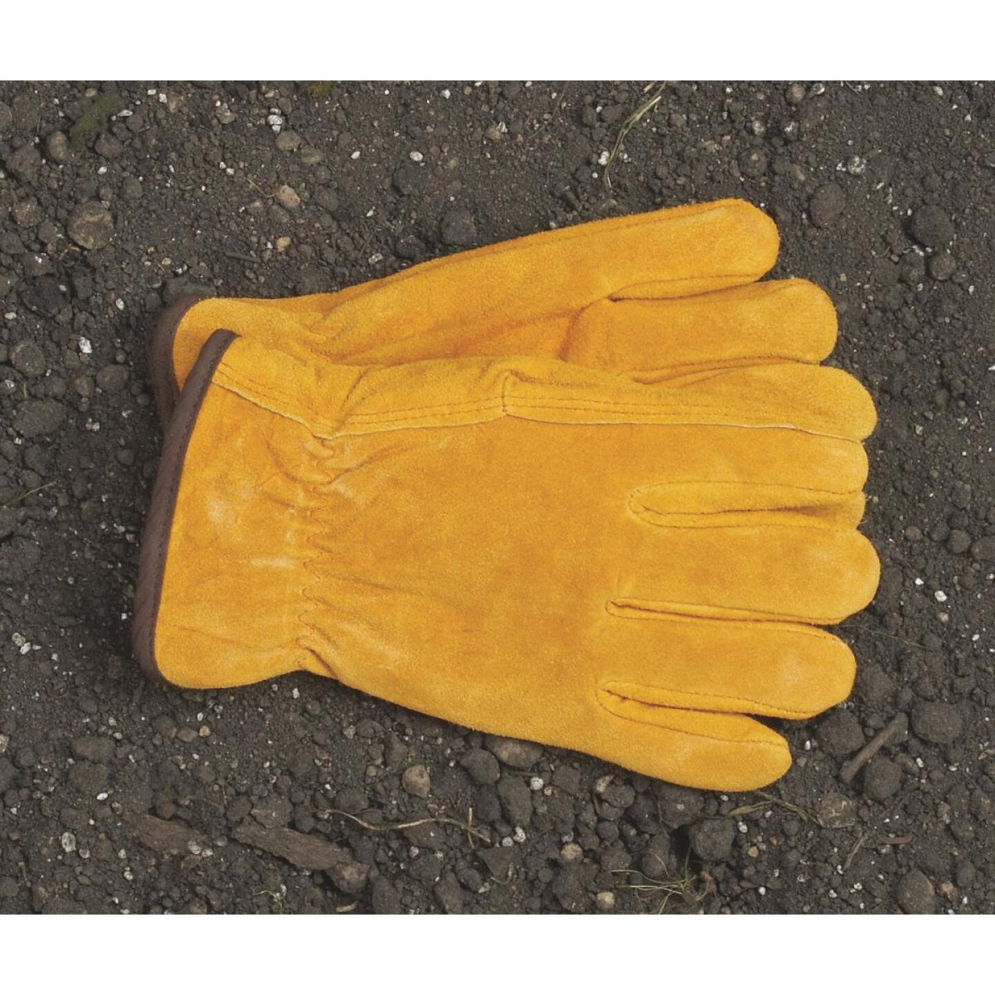 Do it Men's XL Lined Leather Winter Work Glove Image 2