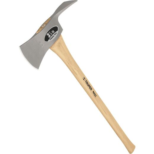 Truper Single Bit Pulaski Axe with 35 In. Hickory Handle