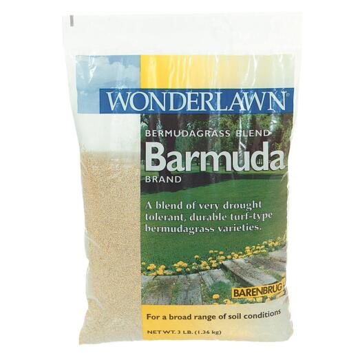 Wonderlawn 3 Lb. 675 Sq. Ft. Coverage 100% Bermuda Hulled Bermudagrass Grass Seed