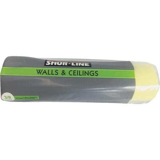 Shur-Line 9 In. x 3/8 In. Smooth/Semi-Smooth Foam Roller Cover