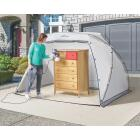 HomeRight 9 Ft. W. x 5.5 Ft. H. x 6 Ft. D. Large Portable Spray Shelter Image 3