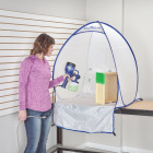 HomeRight 35 In. W. x 39 In. H. x 30 In. D. Small Portable Spray Shelter Image 4