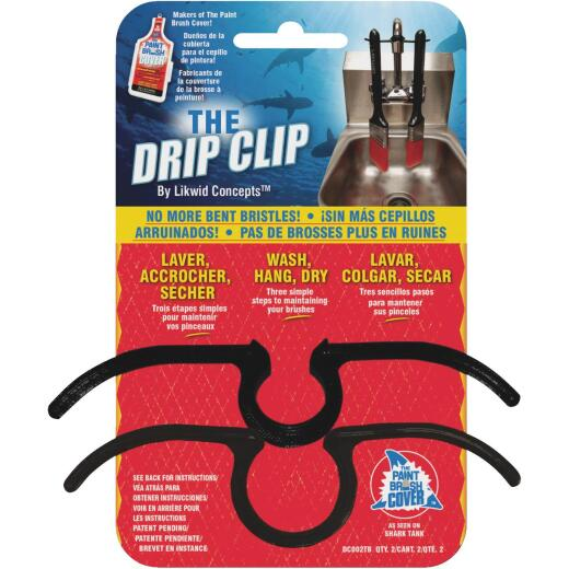 Likwid Concepts The Drip Clip Brush Clip (2 Count)