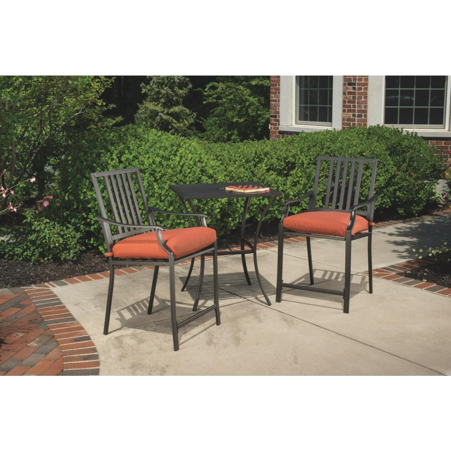 Nantucket 3-Piece Bistro Set with Seat Cushions Image 9