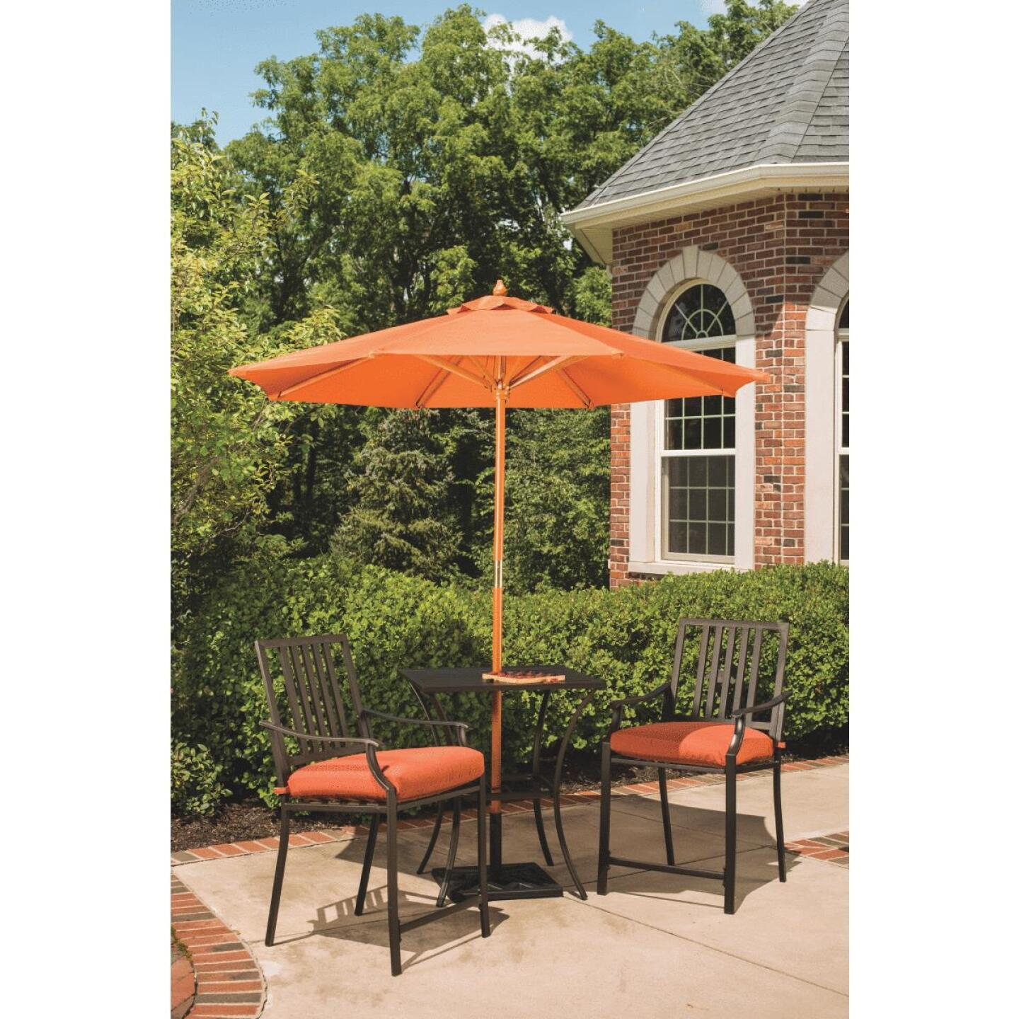 Nantucket 3-Piece Bistro Set with Seat Cushions Image 11
