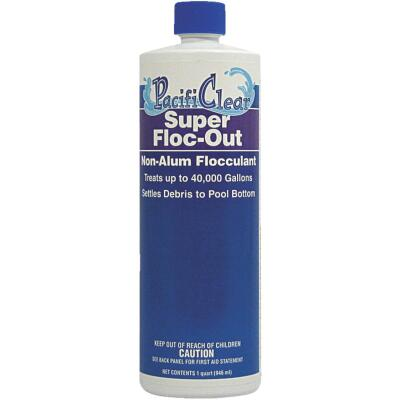 PacifiClear Super Floc Out 1 Qt. Liquid Clarifier