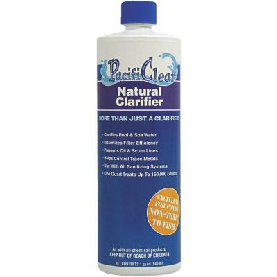PacifiClear 1 Qt. Liquid Natural Clarifier