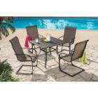 Outdoor Expressions Springfield 5-Piece Spring Chair Dining Set Image 12