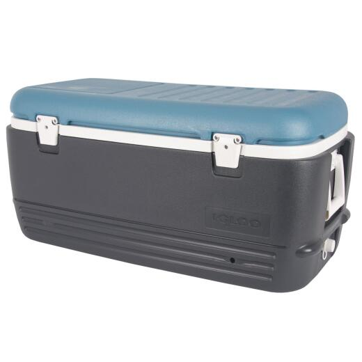 Igloo MaxCold Quick & Cool 100 Qt. Cooler, Blue
