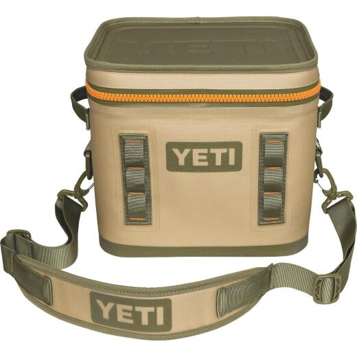 Yeti Hopper Flip 12, 13-Can Soft-Side Cooler, Tan