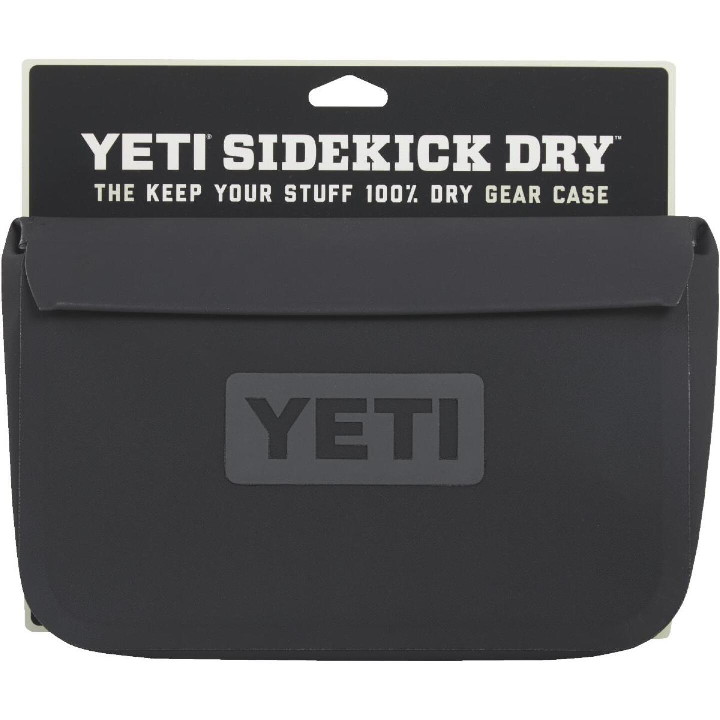 Yeti SideKick Dry 11 In. Charcoal Storage Pouch Image 2