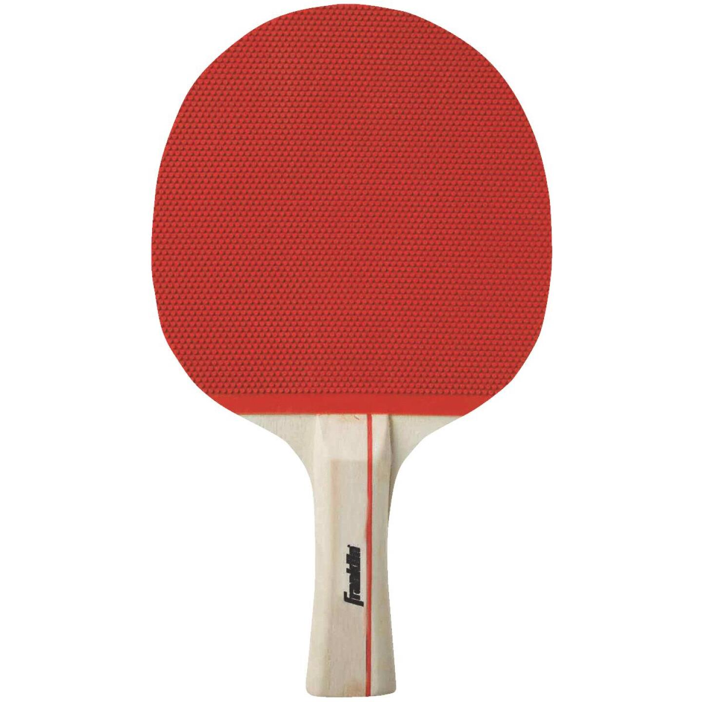 Franklin Straight Handle Rubber Face Table Tennis Paddle Image 1