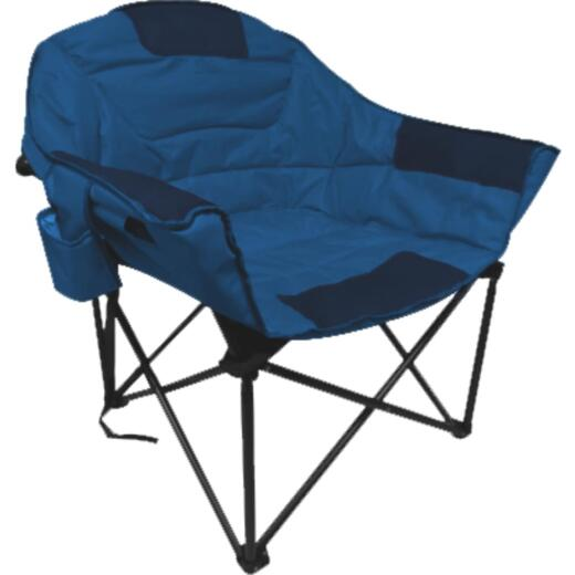 Outdoor Expressions Blue Polyester XL Club Chair