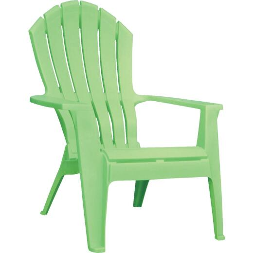 Adams RealComfort Summer Green Resin Adirondack Chair