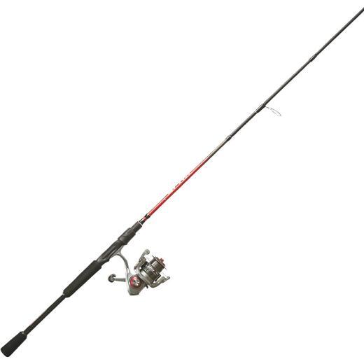 Quantum Optix 6 Ft. 6 In. Graphite Fishing Rod & Spinning Reel