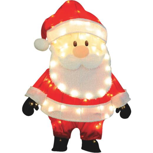 Product Works 32 In. Incandescent 2D Santa Holiday Figure