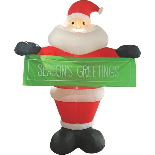 Southern Joy 12 Ft. Seasons Greetings Santa Airblown Inflatable